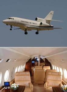 Air Charter Heavy Business Jet in Romania